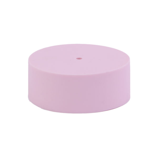 Blush Plain Silicone Ceiling Rose Cover