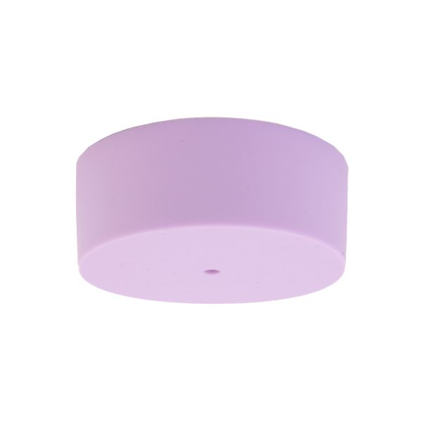 Lilac Plain Silicone Ceiling Rose Cover