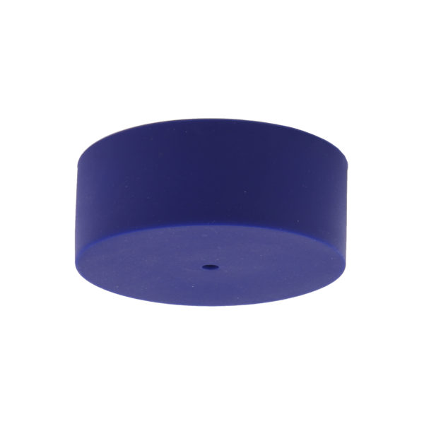 Electric Blue Plain Silicone Ceiling Rose Cover