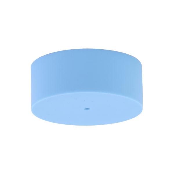 Sky Blue Plain Silicone Ceiling Rose Cover