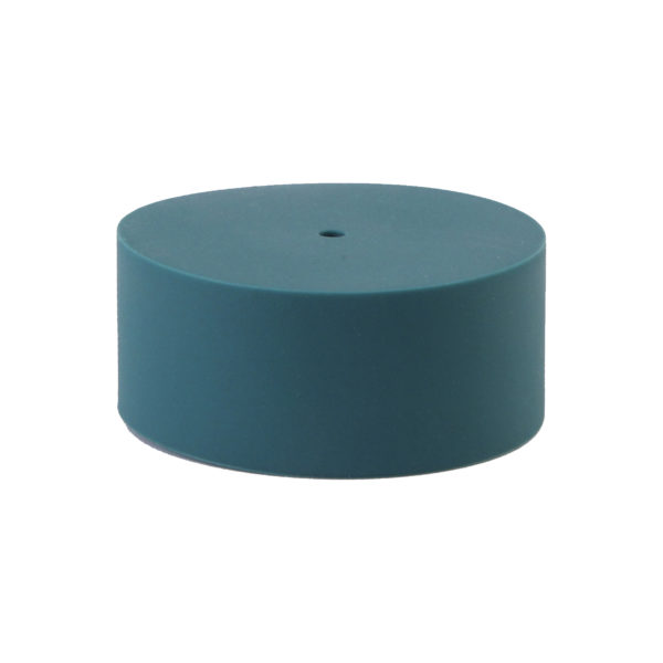 Teal Plain Silicone Ceiling Rose Cover