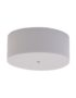 Cloud Grey Plain Silicone Ceiling Rose Cover