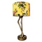 Flora x Fauna Mustard Velvet Lampshade