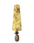 King & Queen Oversized Floral Cone Lampshades in Mustard