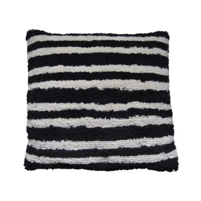 Monochrome Stripes Cushion