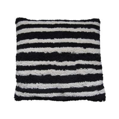 Monochrome Stripes Cushion