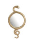 Serpent Snake Mirror in Gold