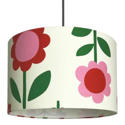 Scandi Flowers Handmade Lampshade