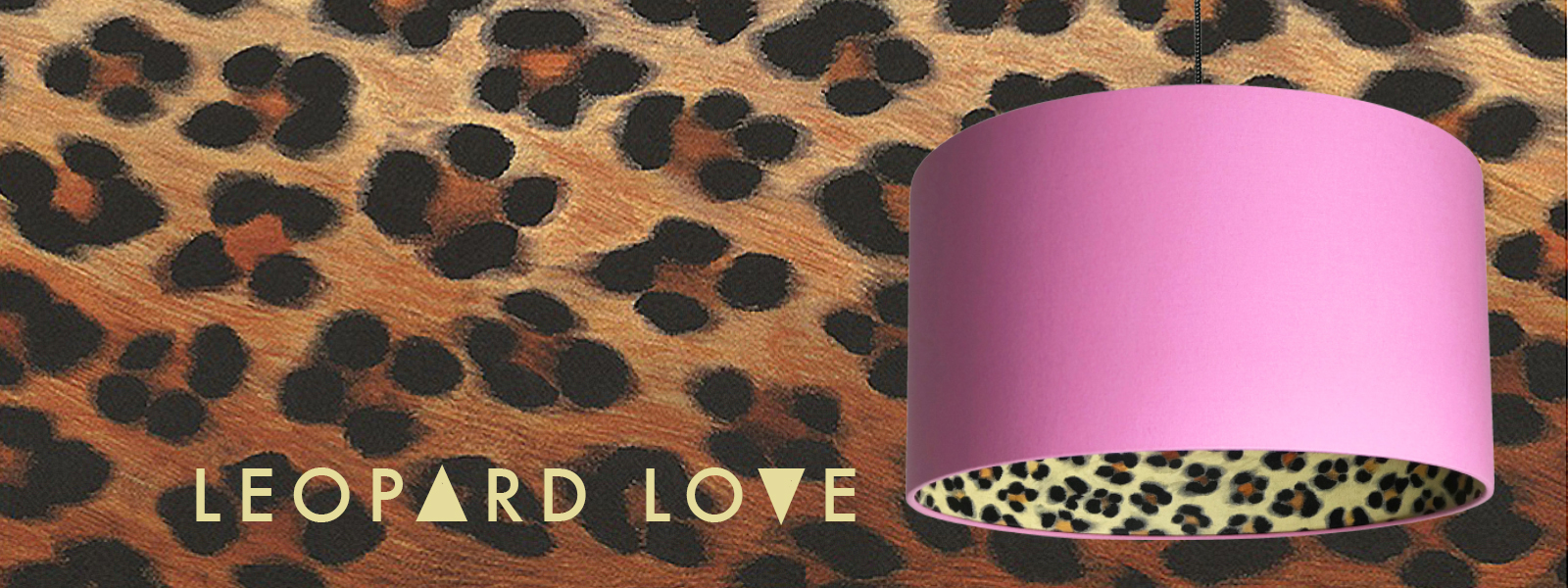 Leopard Love Animal Print Made to Order Lampshades