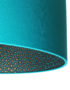 Senzo Spot Animal Print Silhouette Lampshade in Jade