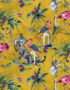 Mustard Chimiracle Wallpaper from Muck N Brass