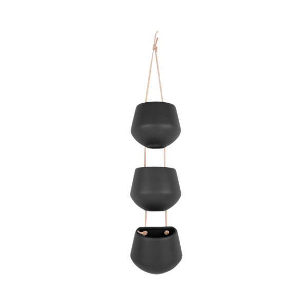 3 in a Row Hanging Planter