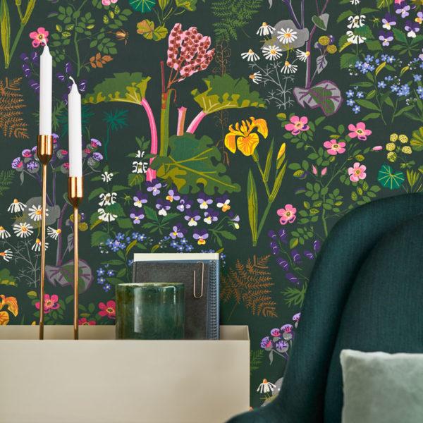 Rabarer Wallpaper by Borastapeter - 2 Colours available
