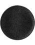 Artisan Charcoal black ribbed Side Plate