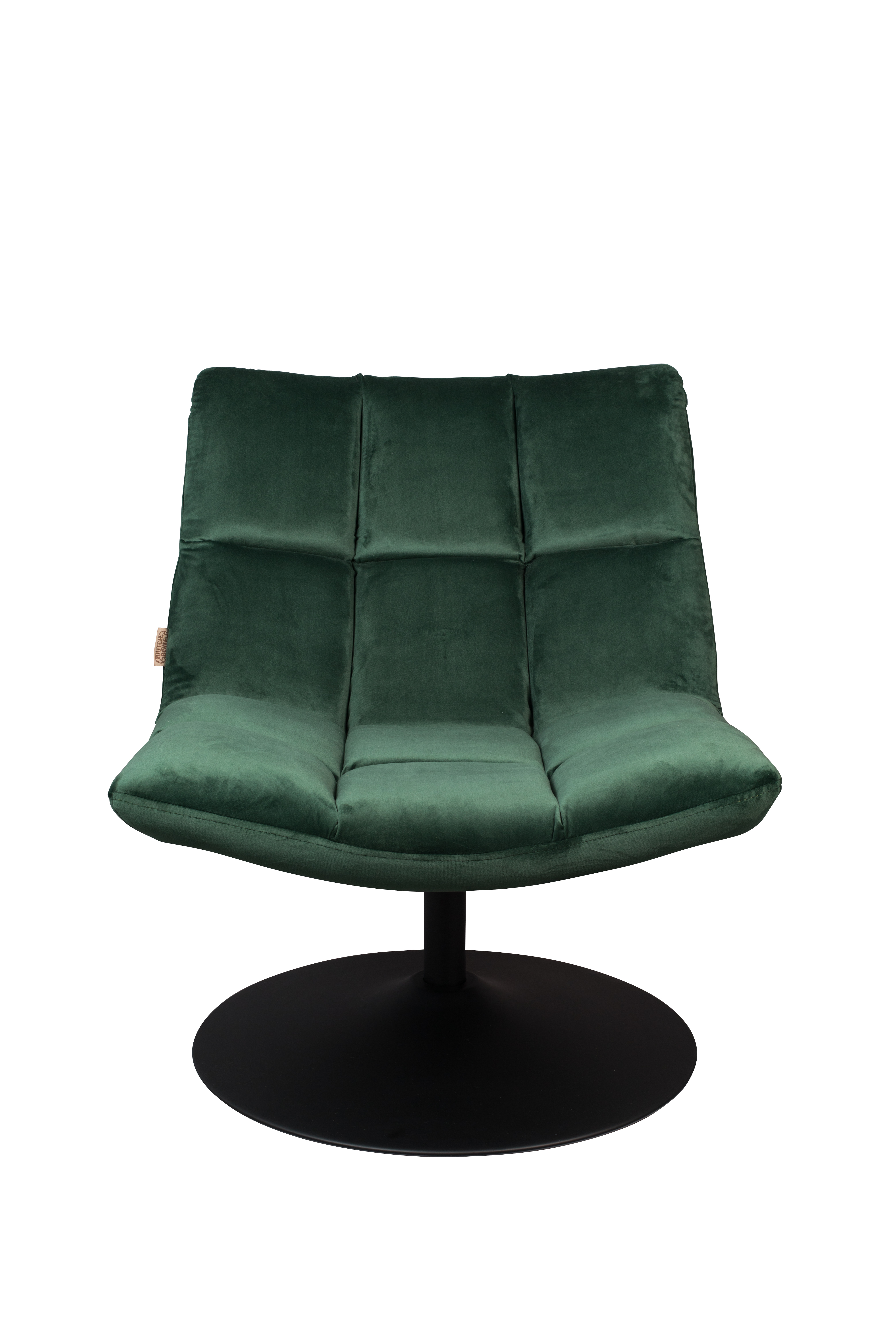Luxe Velvet Lounge Chair In Deep Forest Green Love Frankie