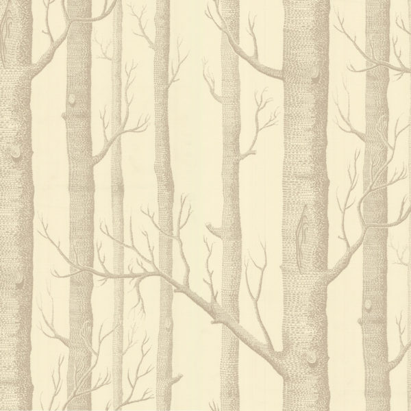 Cole & Son New Contemporary: The Woods Wallpaper Terracotta 69/12148