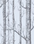Cole & Son New Contemporary: The Woods Wallpaper Grey Blue 69/12150