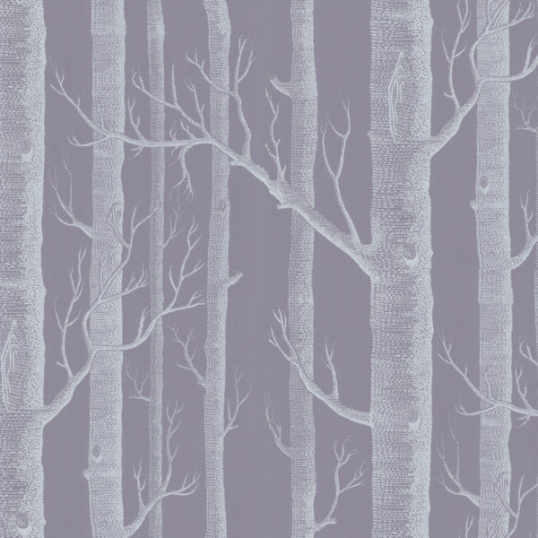 Cole & Son New Contemporary: The Woods Wallpaper Shaded Purple 69/12151