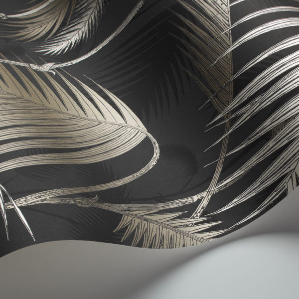 Cole & Son Palm Jungle wallpaper in Metallic Bronze 95/1004