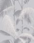 Cole & Son Palm Jungle wallpaper in Silver 95/1007