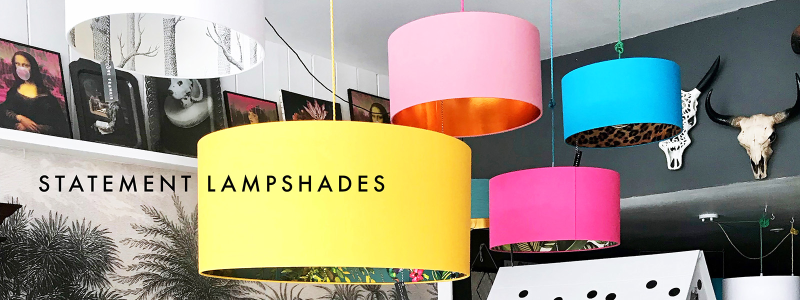 Statement Lampshades Love Frankie