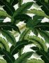 Banana Leaf Tropical fabric in Green