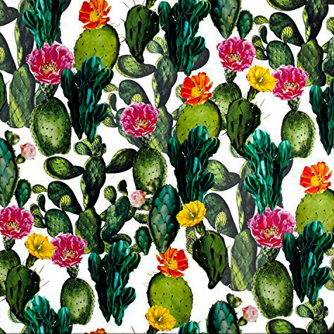 Cactus Garden Tropical Jungle Fabric