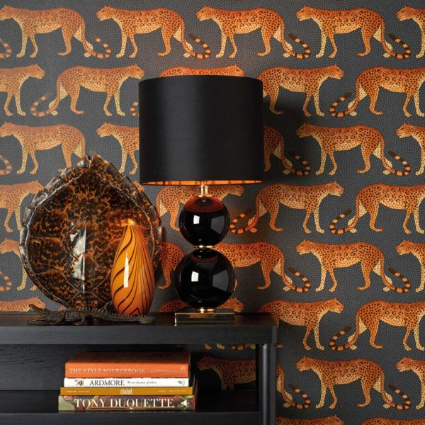 Cole & Son Ardmore Collection: Leopard Walk - 5 Colours Available