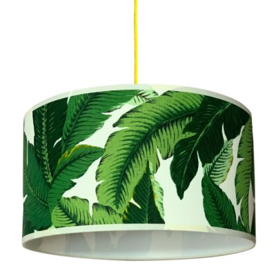 Banana Leaf Tropical Lampshade