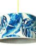 paradise blues tropical lampshade