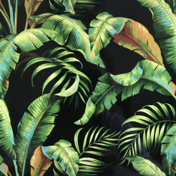 Midnight Palms Tropical Jungle Fabric
