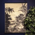 Heron in the Jungle decorative Wall Hanging