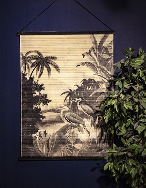 Heron In The Jungle Decorative Wall Hanging Love Frankie