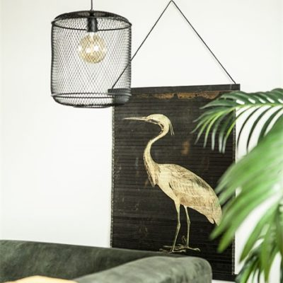Heron Bird Wall Hanging