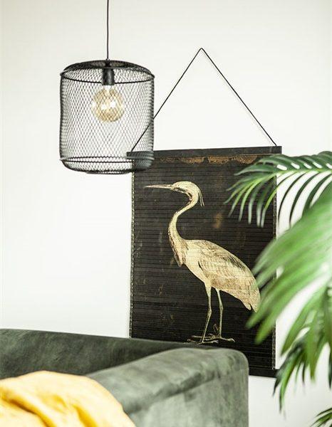 Heron Bird Wall Hanging
