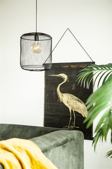 Decorative Heron Wall Hanging Love Frankie
