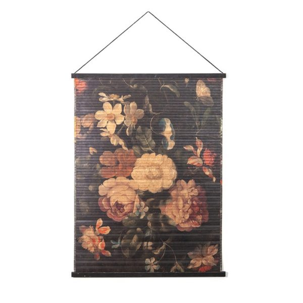 Vintage Flowers Wall Hanging
