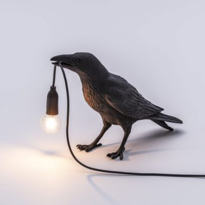 "Unusual Bird lamp "" Waiting"" by Seletti"