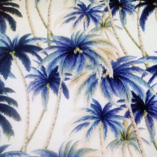 Swaying Palm Tress Tropical Jungle Fabric