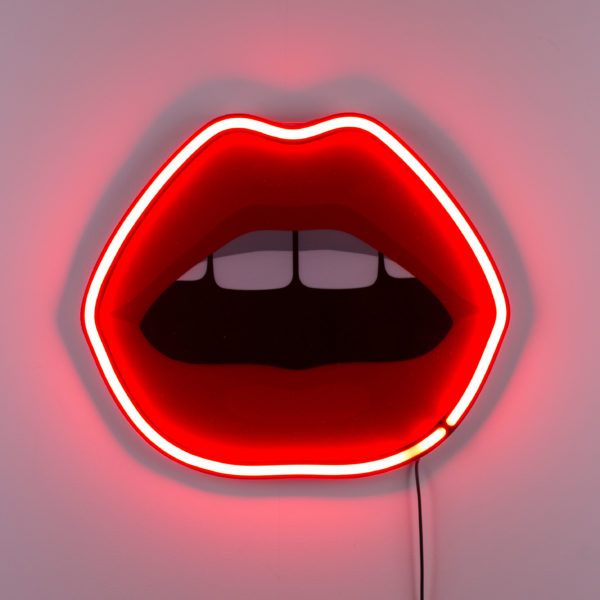 Seletti BLOW Cheeky Neon Lip Light