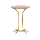 Luxe Gold Heron Side Table