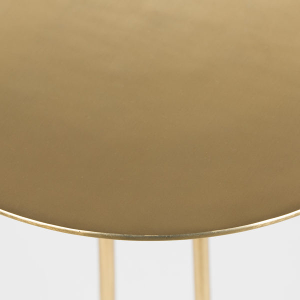 Luxe Gold Heron Side Table - Table Top