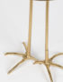Luxe Gold Heron Side Table - Close up