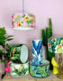 Big Kahuna! The Love Frankie Tropical Lampshade Collection