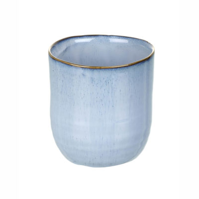 Sea Blue Ceramic Pot