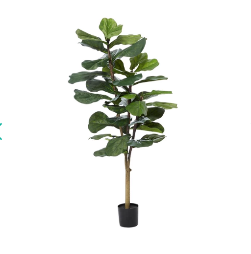 Artificial Fiddle Fig Tree