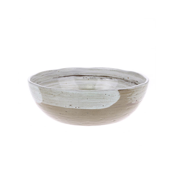 Artisan Brushed Japanese Noodle Bowl