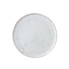 Artisan Speckled Breakfast Plate in White