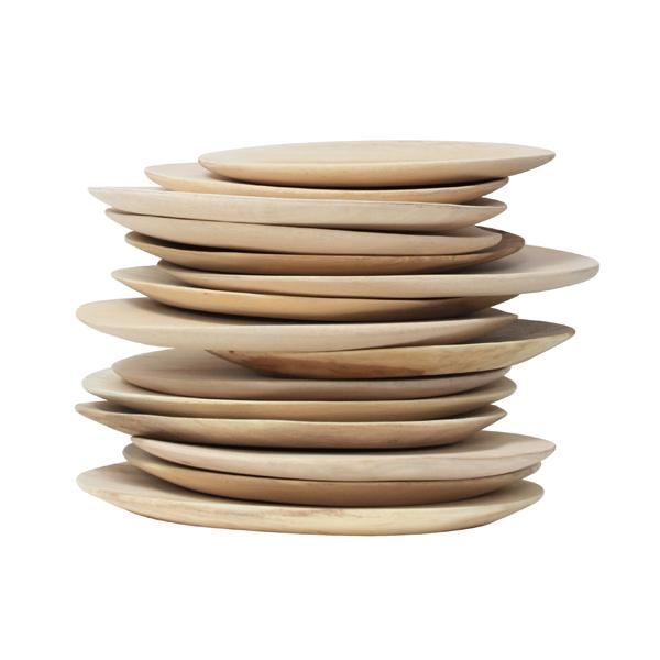 Artisan Mango Wood Plates
