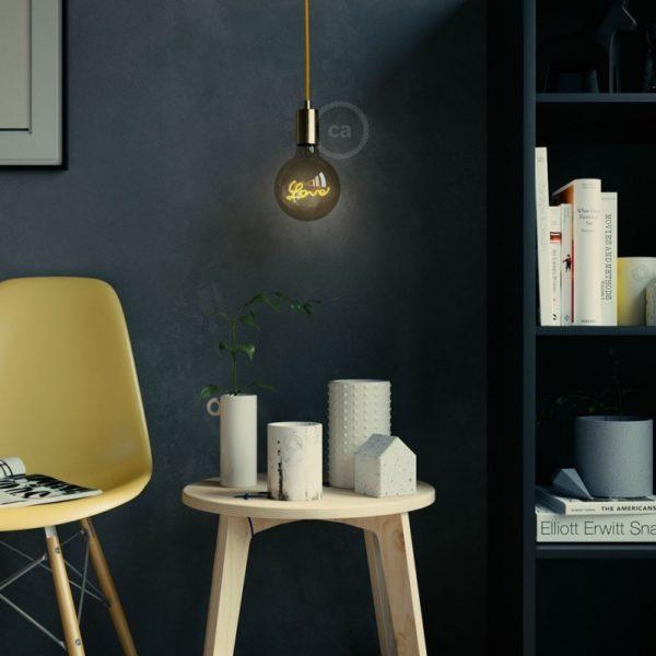 LED Filament Love Bulb lifestyle Shot